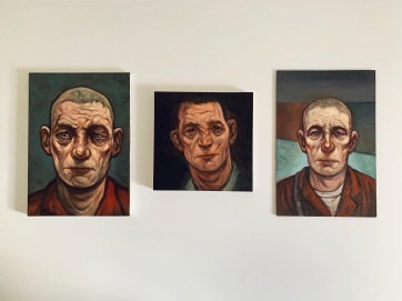 Exiles (Triptych)