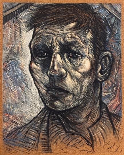 Portrait Study Pastel